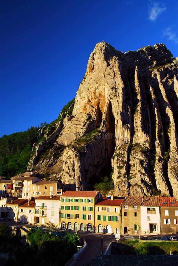 Ville De Sisteron En Provence France Images stock