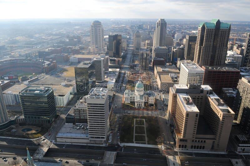 Ville de St Louis Missouri photos libres de droits