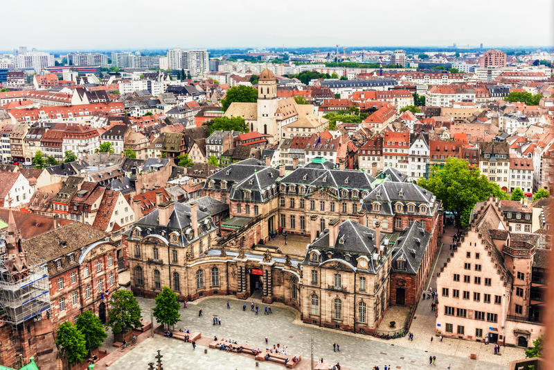 Ville de Strasbourg photos stock