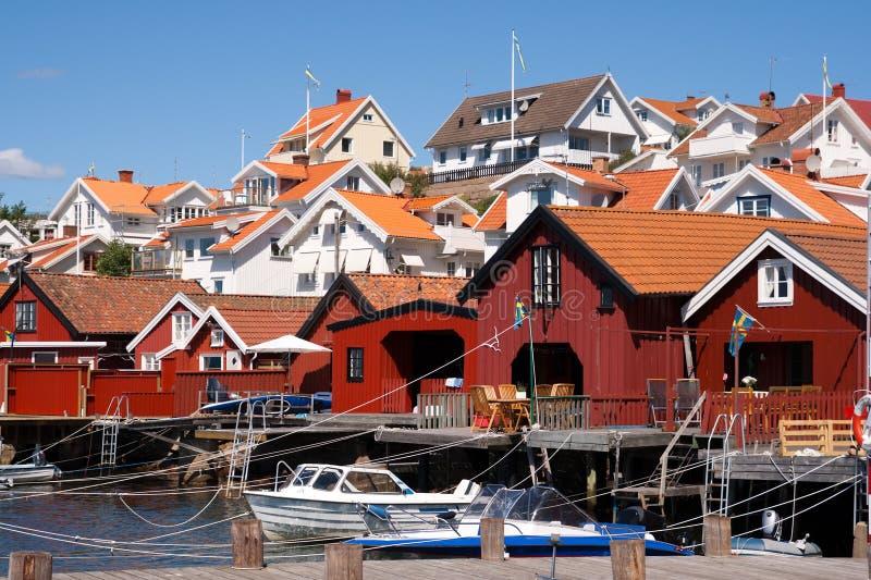 Ville de Stromstad images libres de droits