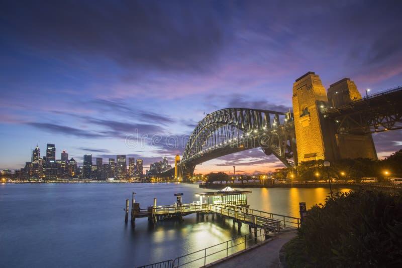 Ville de Sydney photos stock