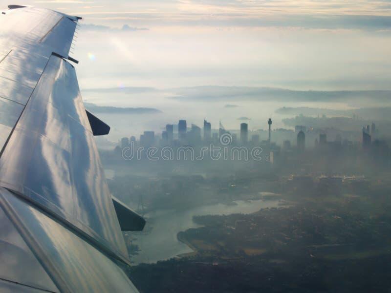 Ville de Sydney d'air photos stock