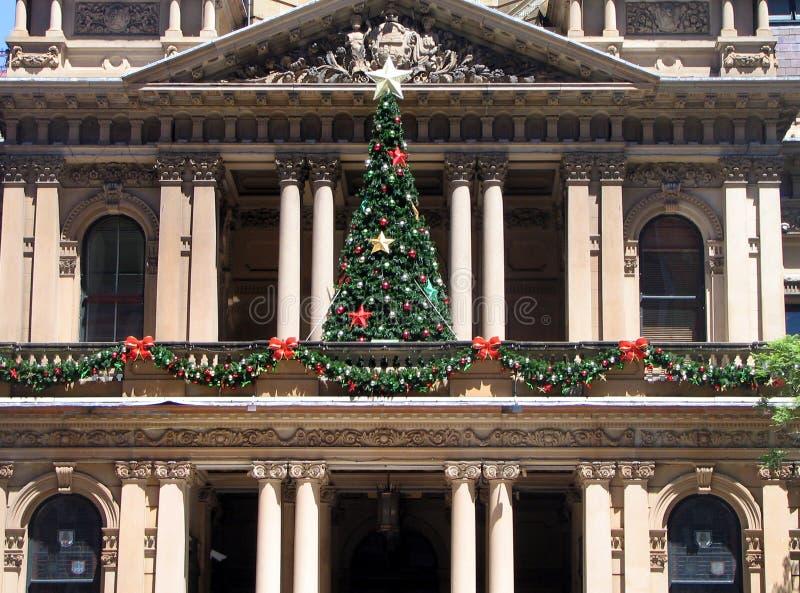 ville de Sydney de hall de Noël image stock