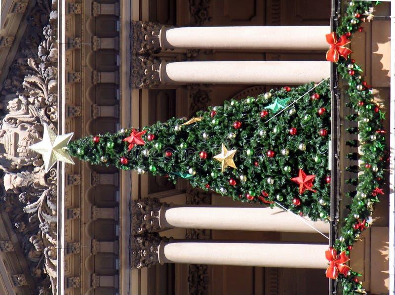 ville de Sydney de hall de Noël photographie stock libre de droits