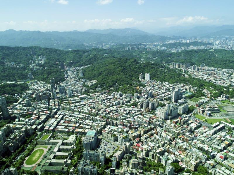 Download Ville De Taïpeh De Vue Supérieure Photo stock - Image du panorama, asie: 56484816