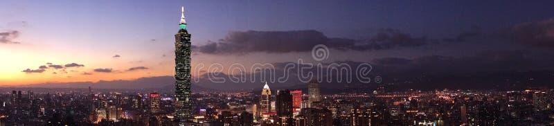 Ville de Taïwan photos stock