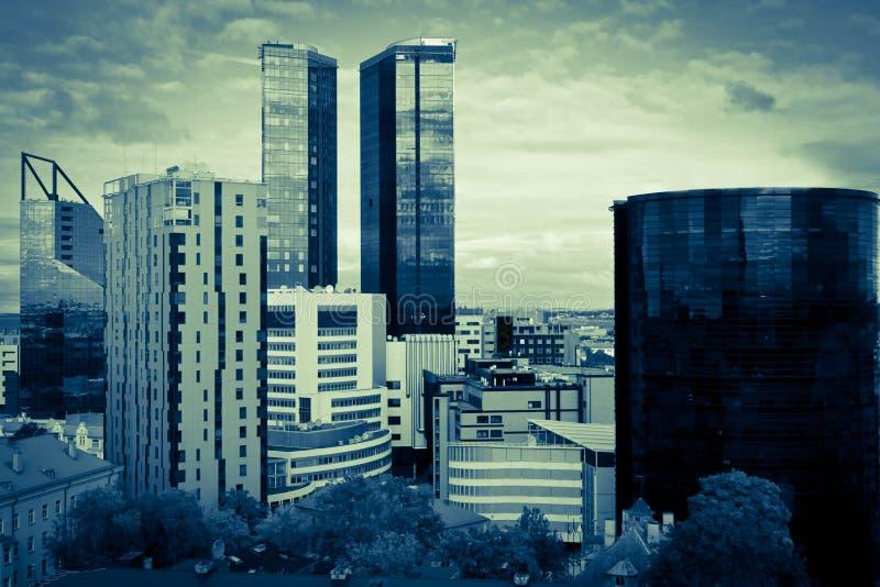 Ville de Tallin photo libre de droits