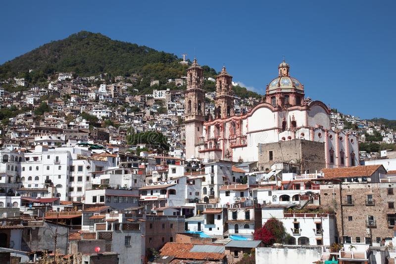 Ville de Taxco, Mexique photographie stock libre de droits