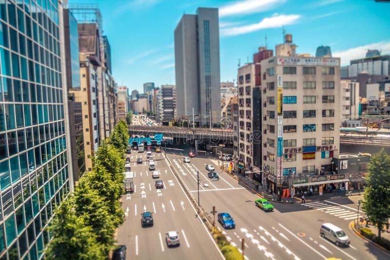 Ville de Tokyo image libre de droits