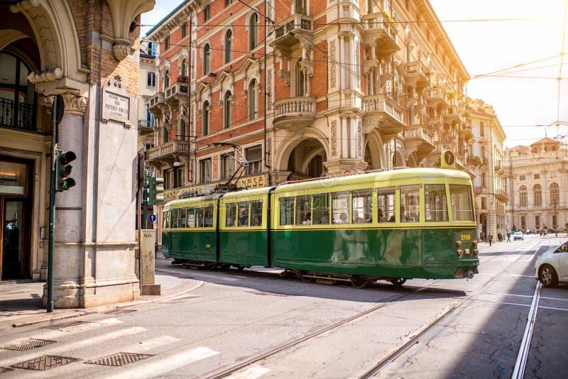 Ville de Turin en Italie photographie stock libre de droits