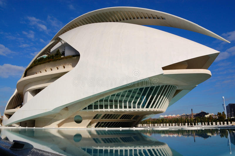 Ville de Valence, Espagne photo stock