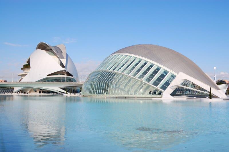 Ville de Valence, Espagne images stock