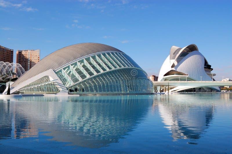 Ville de Valence, Espagne photo libre de droits