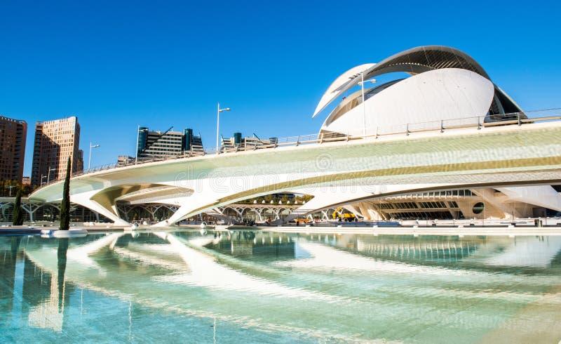 Ville de Valence - Espagne photos stock