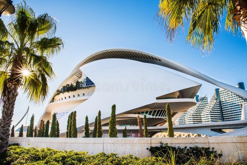 Ville de Valence - Espagne images libres de droits
