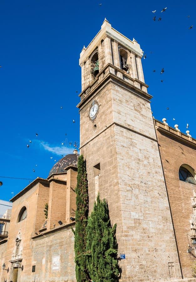 Ville de Valence - tirs de l'Espagne photos stock