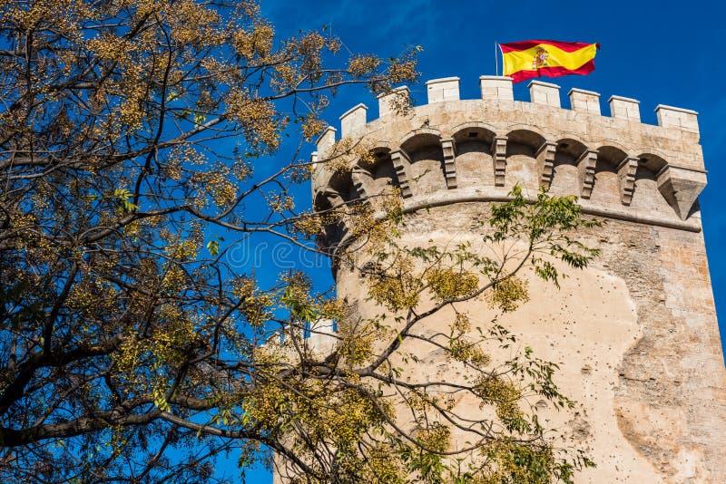 Ville de Valence - tirs de l'Espagne - voyage l'Europe images libres de droits