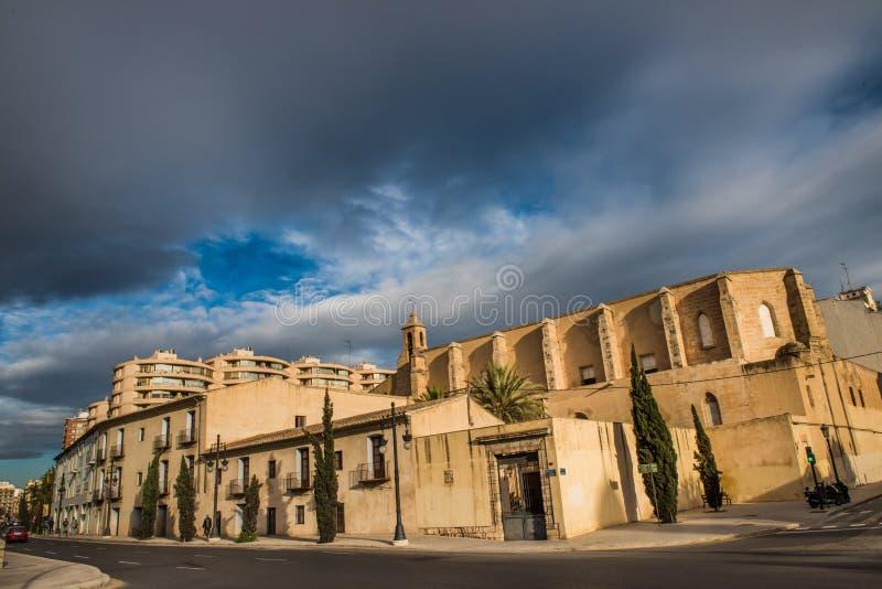Ville de Valence - tirs de l'Espagne - voyage l'Europe image stock