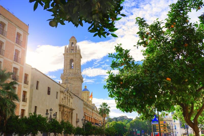 Ville de Valence - tirs de l'Espagne - voyage l'Europe photo stock