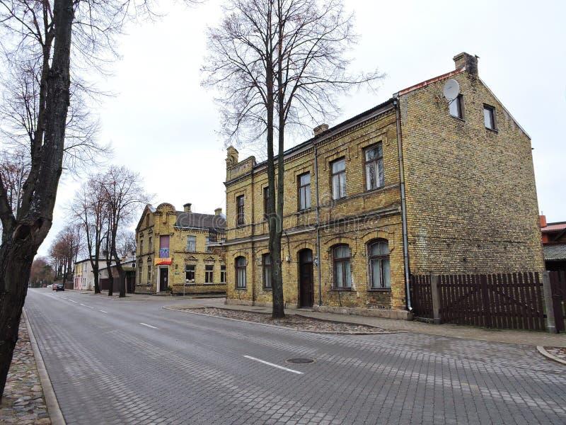 Ville de Ventspils, Lettonie photos stock