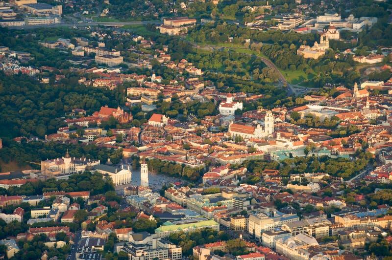 Ville de Vilnius, Lithuanie photographie stock libre de droits