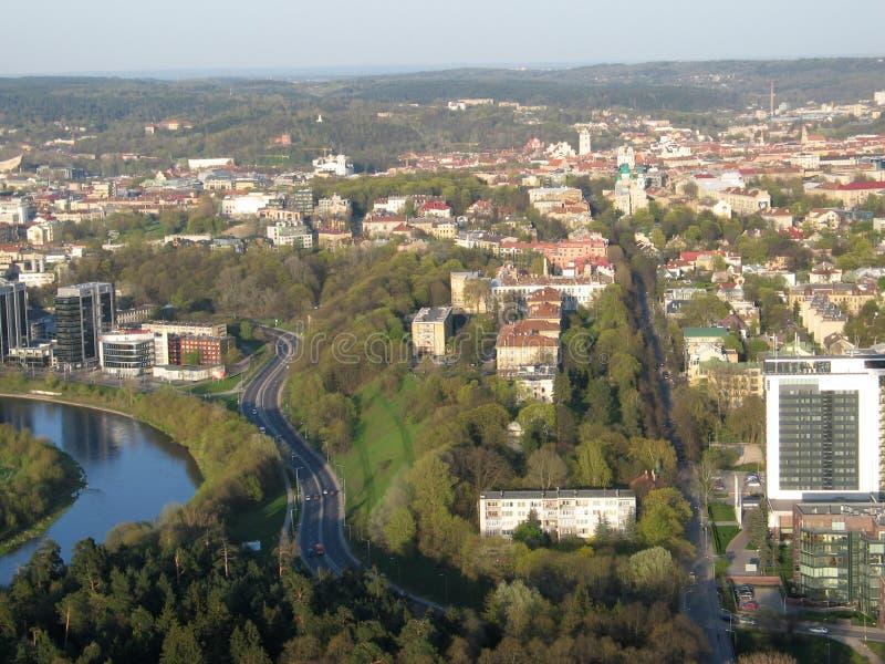 Ville de Vilnius (Lithuanie) photo stock