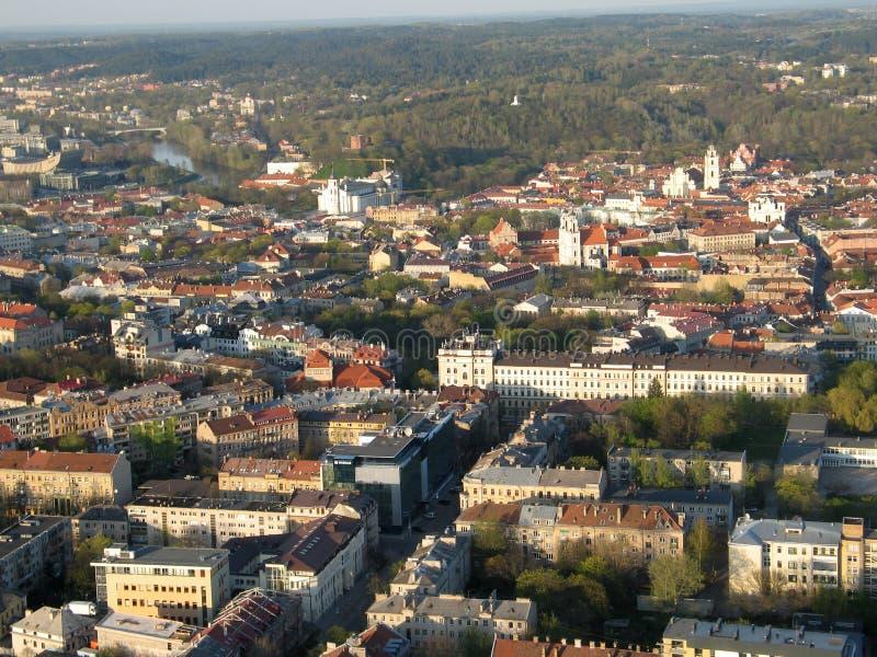 Ville de Vilnius (Lithuanie) photos libres de droits