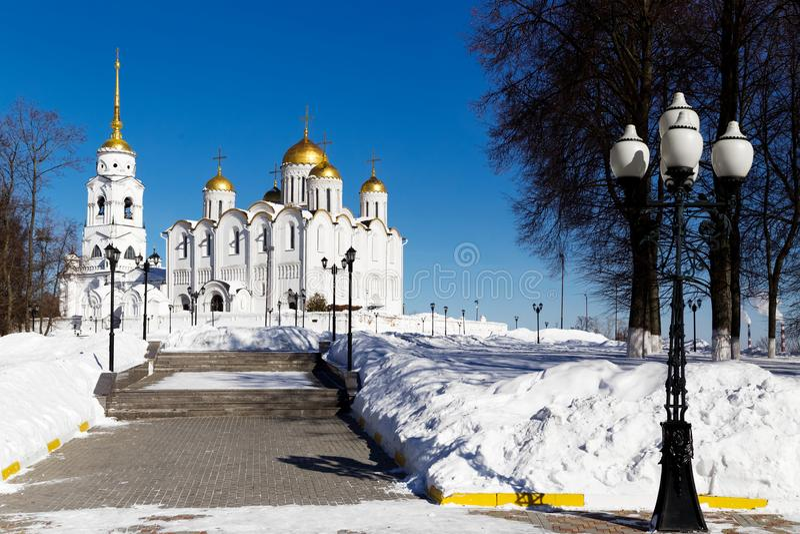Ville de Vladimir, Russie photo stock