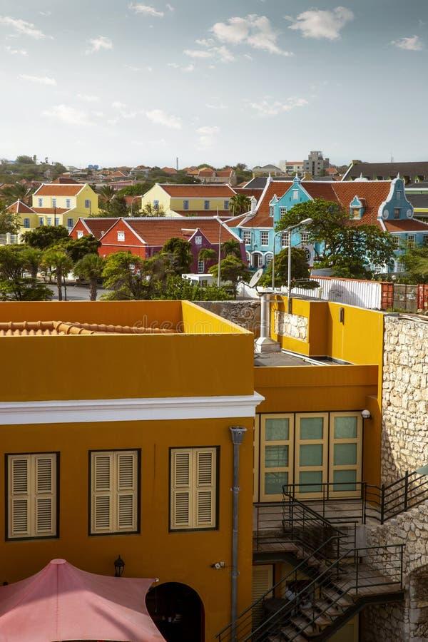 Ville de Willemstad en le Cura?ao photos libres de droits