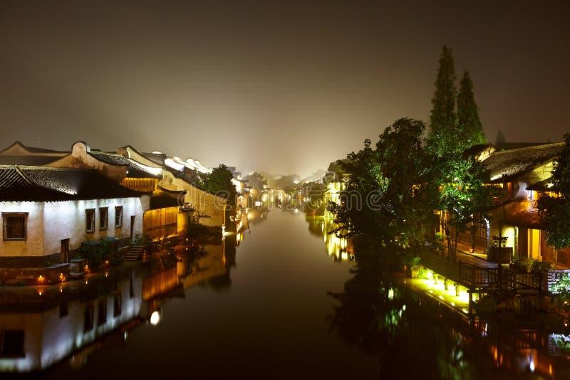 Ville de Wuzhen photographie stock libre de droits