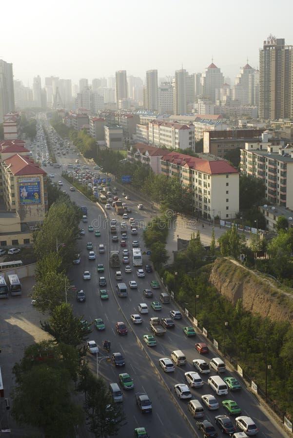 Ville de Xining photo stock