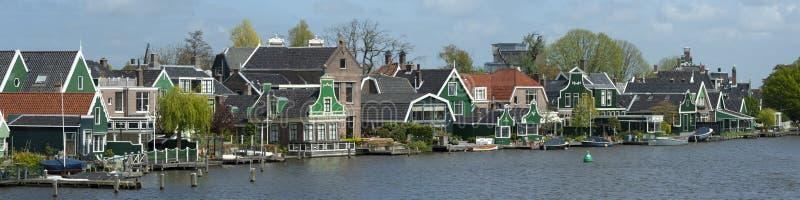 Ville de Zaanse Schans, Hollande photo libre de droits