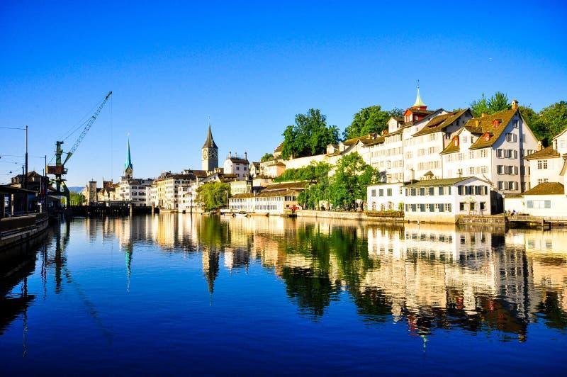 Ville de Zurich image stock