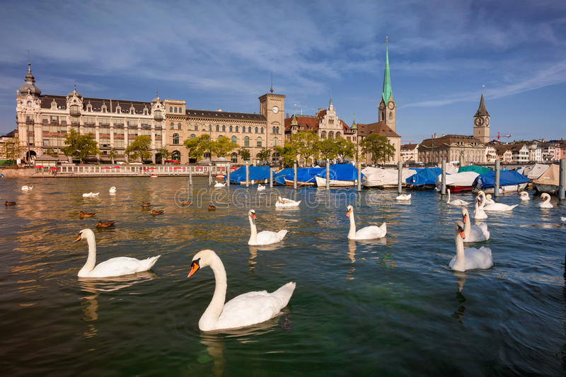 Ville de Zurich photo stock