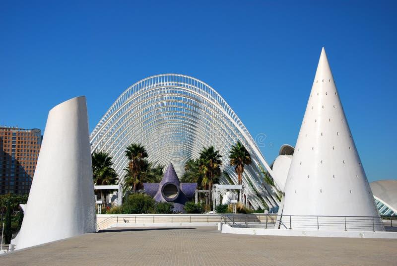 Ville des arts et des sciences, Valence photo libre de droits