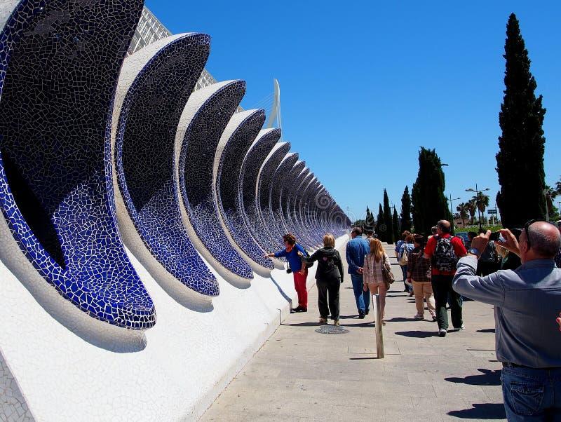 Ville des arts et des sciences, Valence photos libres de droits
