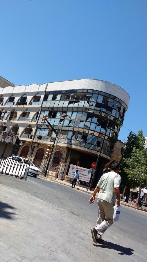 Ville des homs après guerre photo libre de droits