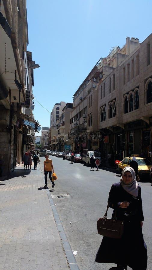 Ville des homs après guerre images stock