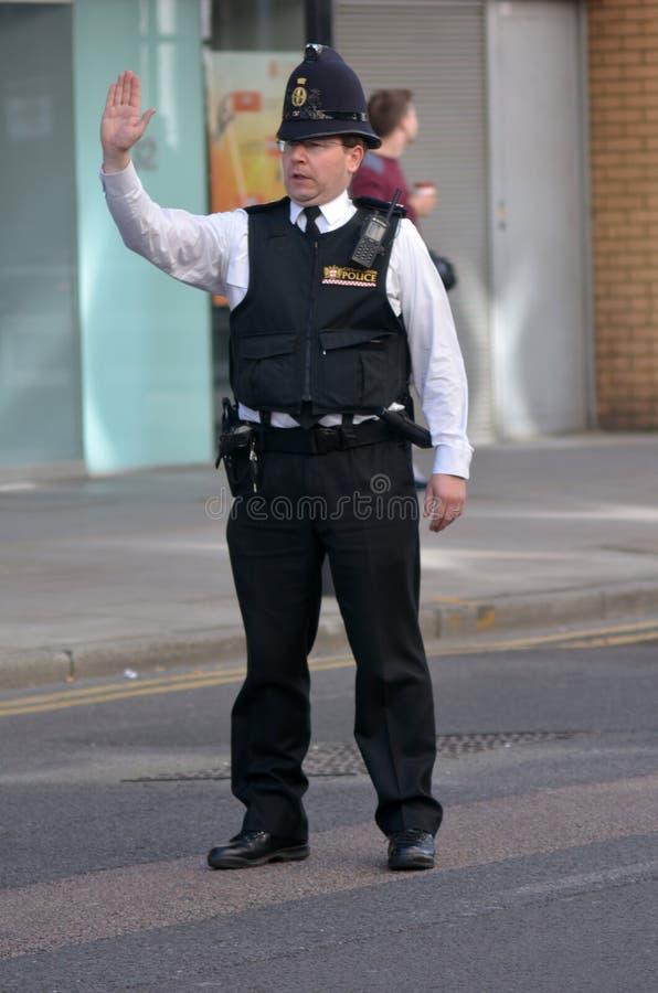 Ville des policiers de Londres photos stock