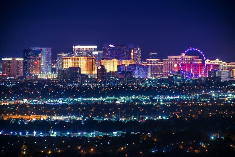 Ville du Nevada Etats-Unis de Las Vegas images libres de droits