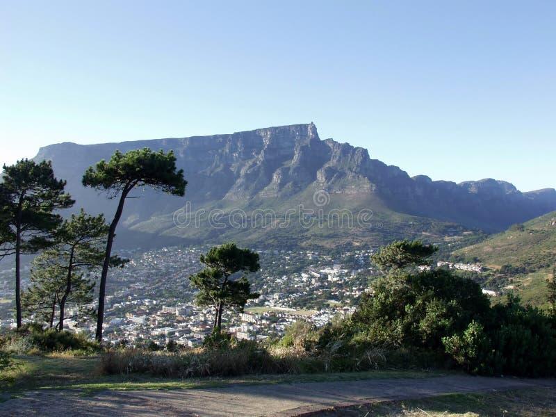 ville du sud de cap de l'Afrique image libre de droits