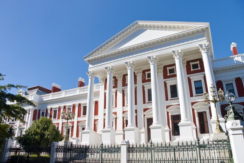 ville du sud de constructions du parlement africain de cap photos stock