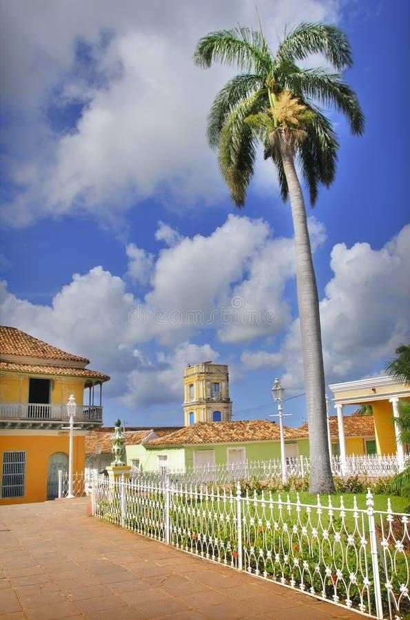 Ville du Trinidad, Cuba images libres de droits