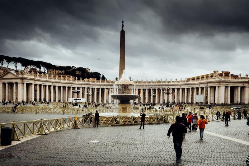 Ville du Vatican à Rome Italie photo stock