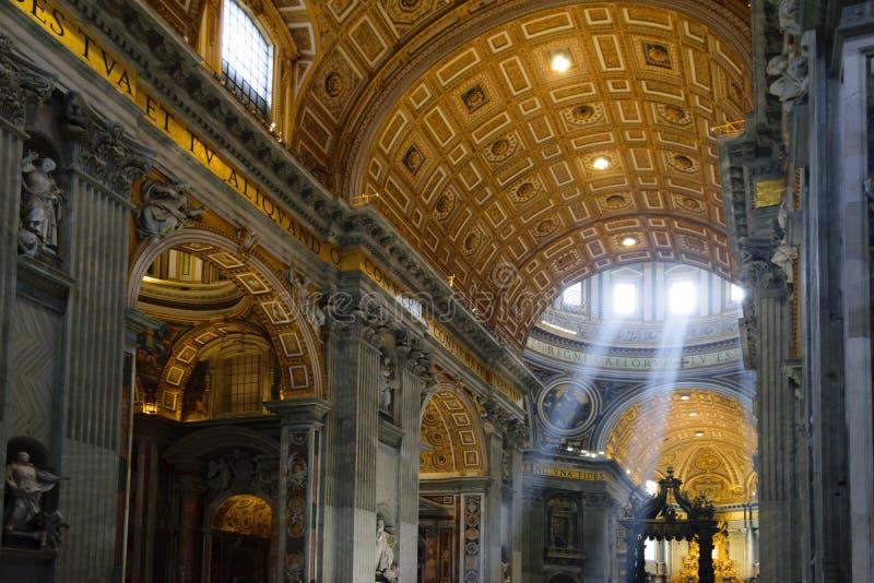 Ville du Vatican, Vatican LE 19 JUIN 2019 la basilique du St Peter photo libre de droits
