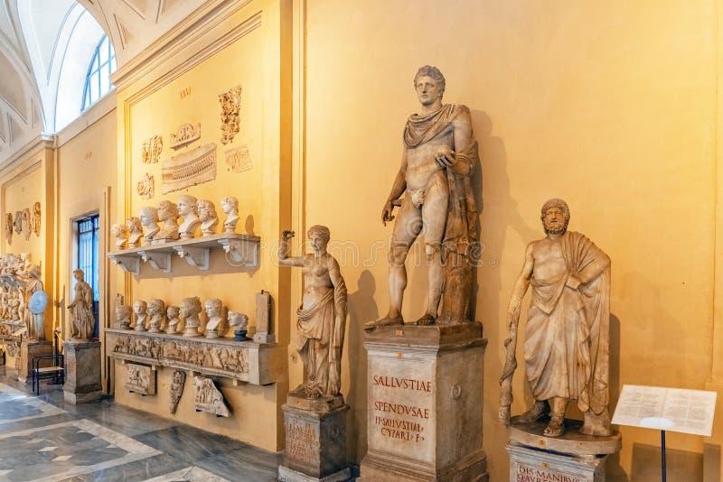 VILLE DU VATICAN, VATICAN 9 MAI 2017 : À l'intérieur du musée de Vatican, photographie stock