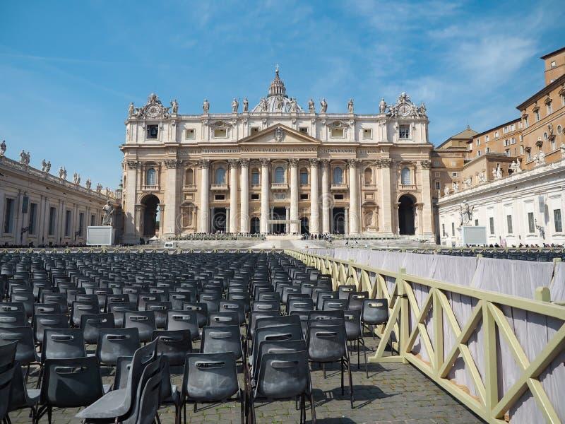 Ville du Vatican, patrimoine mondial de l'Italie avec le classique image stock