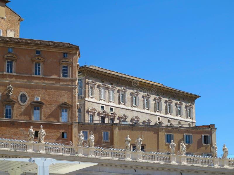 19 06 2017, Ville du Vatican, Roma, Italie : Architecture célèbre de SA photos libres de droits