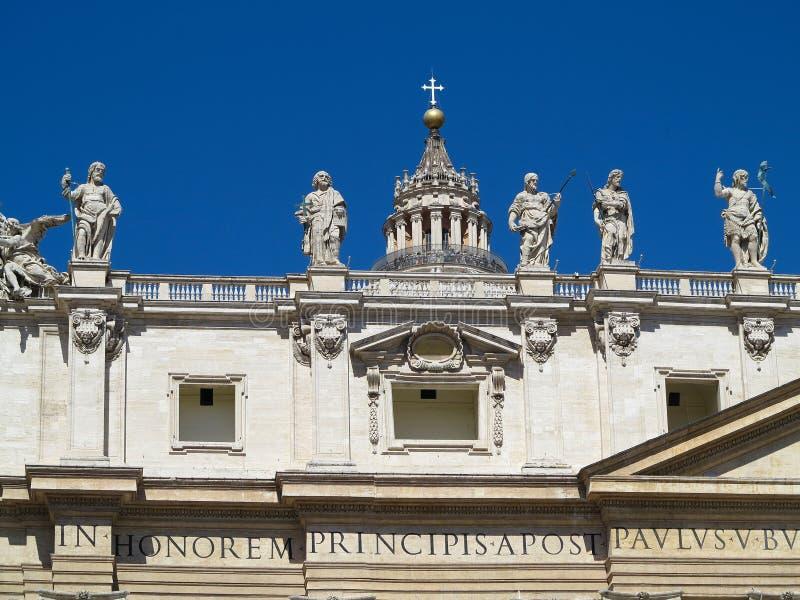 19 06 2017, Ville du Vatican, Roma, Italie : Architecture célèbre de SA photo libre de droits