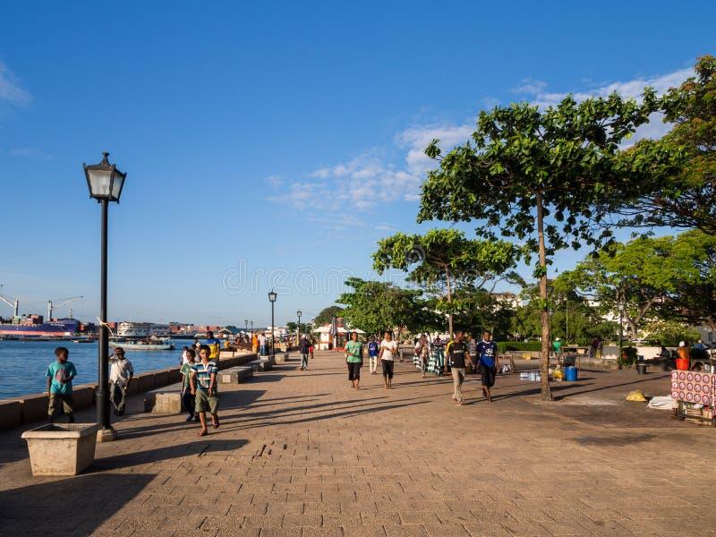 Ville en pierre, Zanzibar images libres de droits